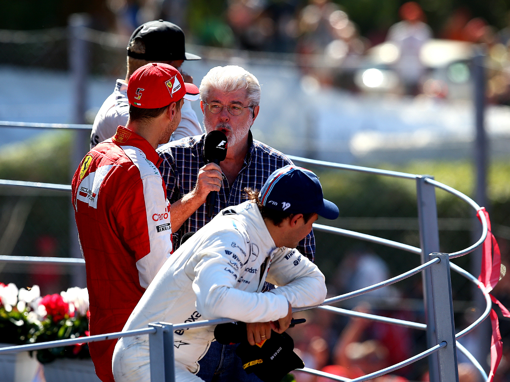 xxxx during the Formula One Grand Prix of Italy at Autodromo di Monza on September 6, 2015 in Monza, Italy.