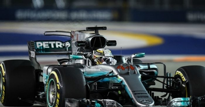 The First 20 Seconds Of The Singapore GP Were Complete Carnage