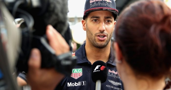 Ricciardo disappointed with P2 in Singapore: