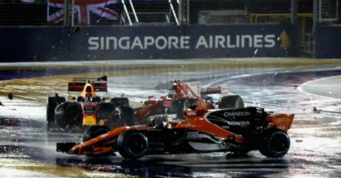 Alonso: Singapore podium was 'guaranteed'