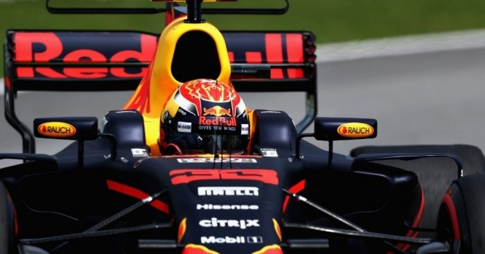 Max Verstappen reacts superbly to overtaking Lewis Hamilton at Malaysian GP