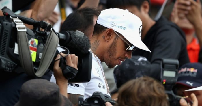 Japanese GP: Hamilton flies to first Suzuka pole ahead of Bottas