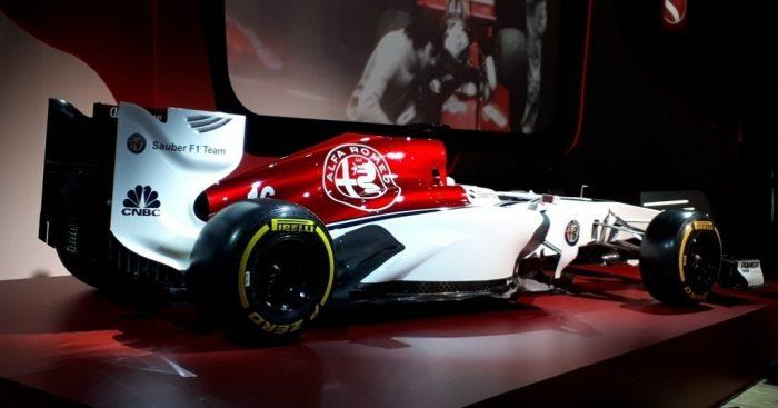 Sauber unveil Alfa Romeo livery   PlanetF1 : PlanetF1