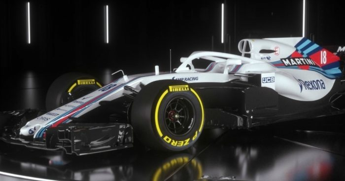 Williams reveals the FW41
