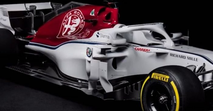 Alfa Romeo Sauber launch the C37 F1 vehicle for 2018