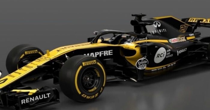 Renault Sport Formula One Team reveals Renault RS18 auto