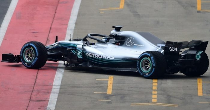 Mercedes-AMG Unveils F1 W09 EQ Power+ Race Car For 2018 Season