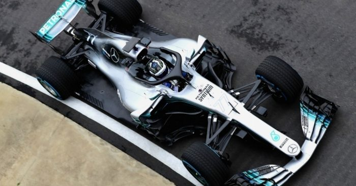 This Is the Mercedes W09 Formula 1 vehicle