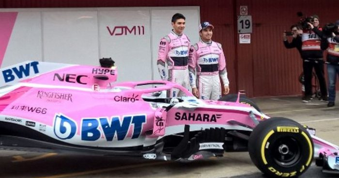 Final 2018 auto F1 unveiled by Force India