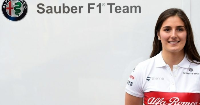 Sauber sign Calderon to test driver deal