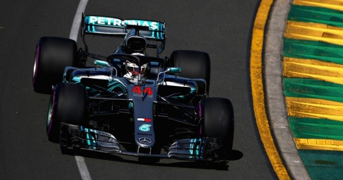 Mercedes set early pace at Australian Grand Prix practice