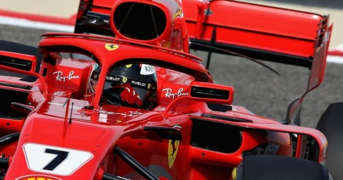 Ferrari's Raikkonen tops the timesheets in Closing Bahrain GP practice