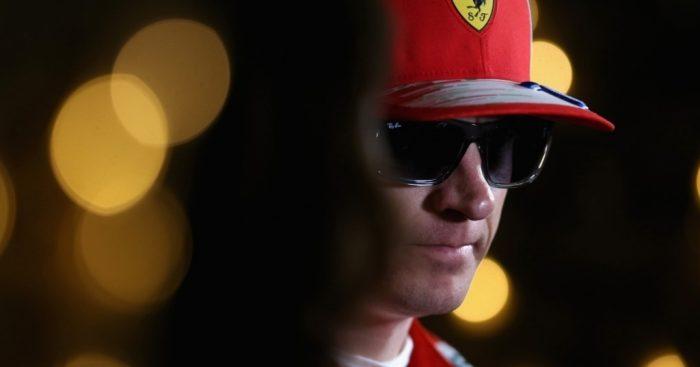 Raikkonen fastest but risks grid penalty
