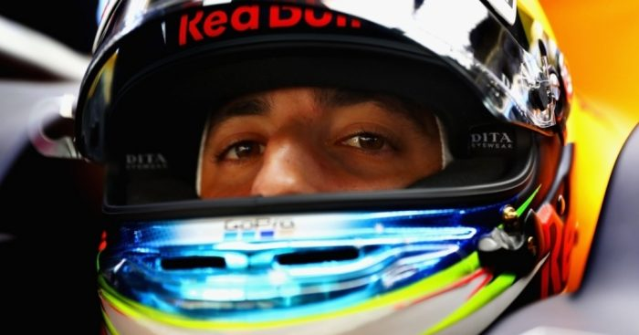 Ricciardo savours 'shoey' after sensational #ChineseGP win