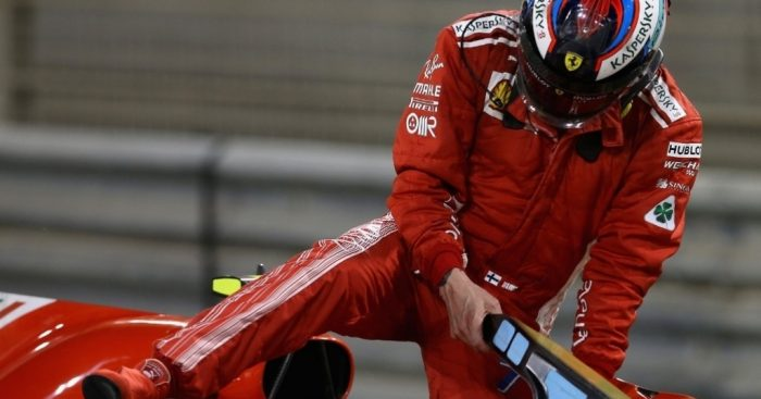 Ferrari F1 pit review after horror injury