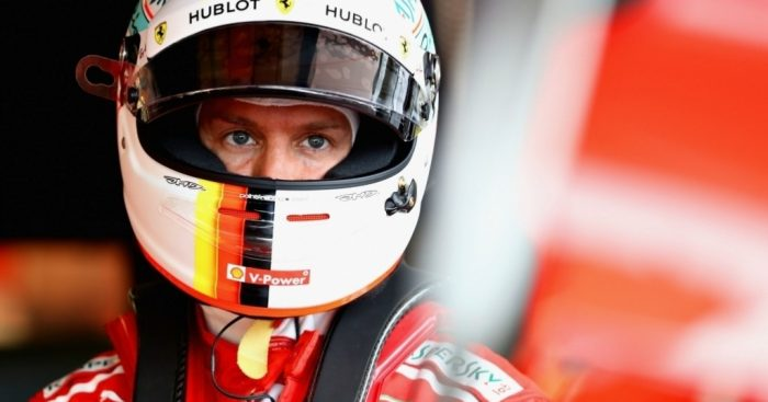 Sebastian Vettel on pole on Azerbaijan, Lewis Hamilton second