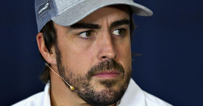 'Happy' Fernando Alonso hoping to benefit from potentially chaotic wet race