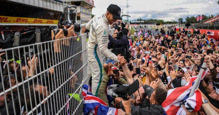 Lewis Hamilton wins the 2018 Spanish GP