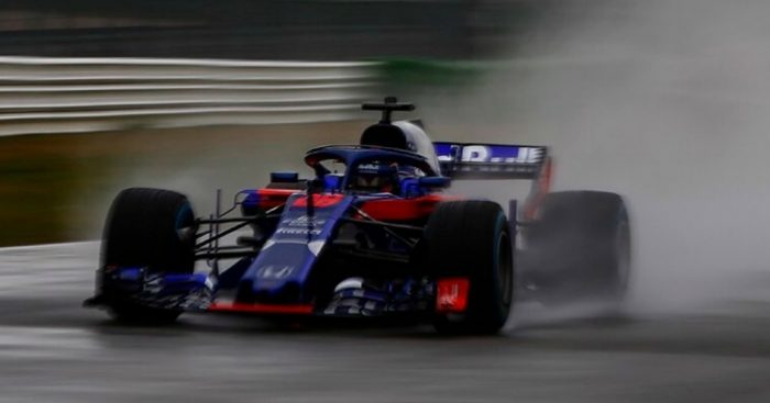 Super Smooth First Run For Toro Rosso Honda Planetf1