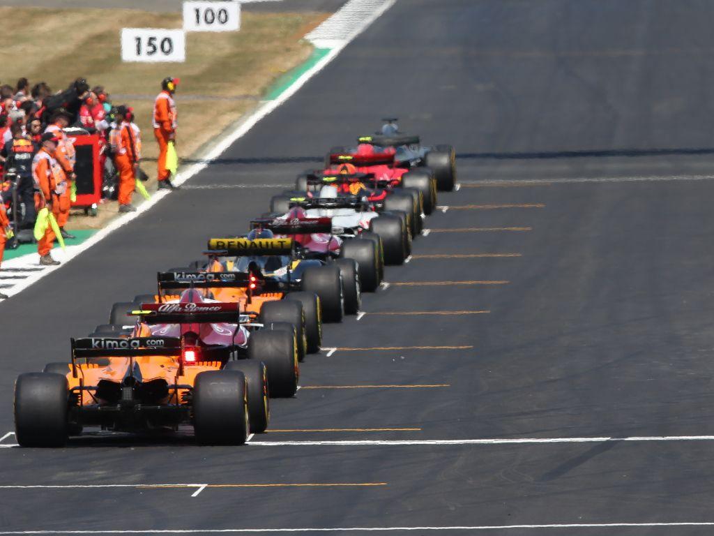 British GP grid