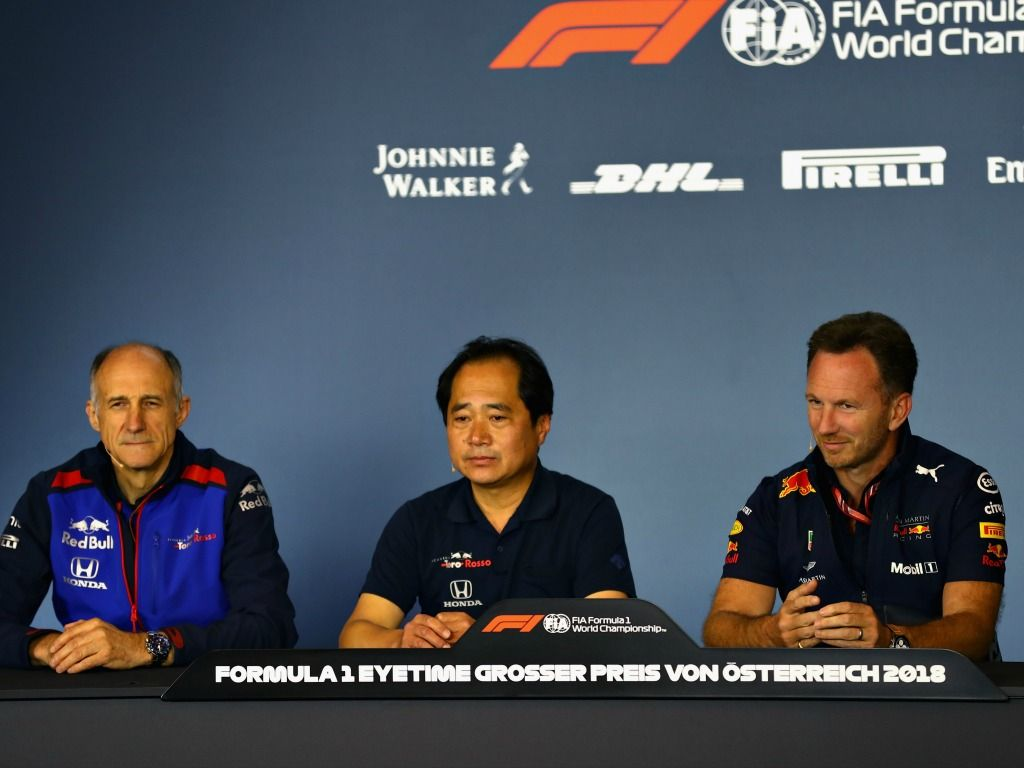 Red Bull: won't push Honda to sacrifice Toro Rosso