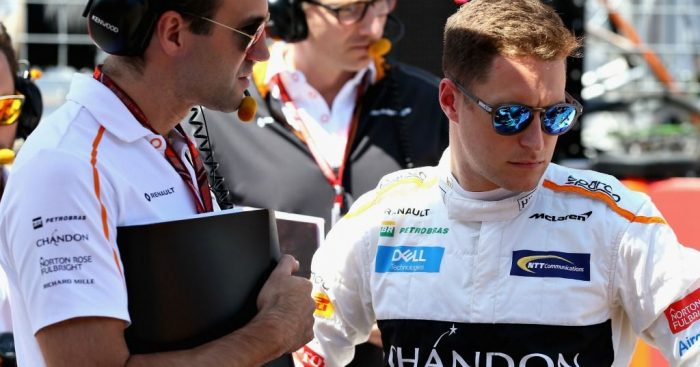 Stoffel Vandoorne: 'Pretty sure' of McLaren stay