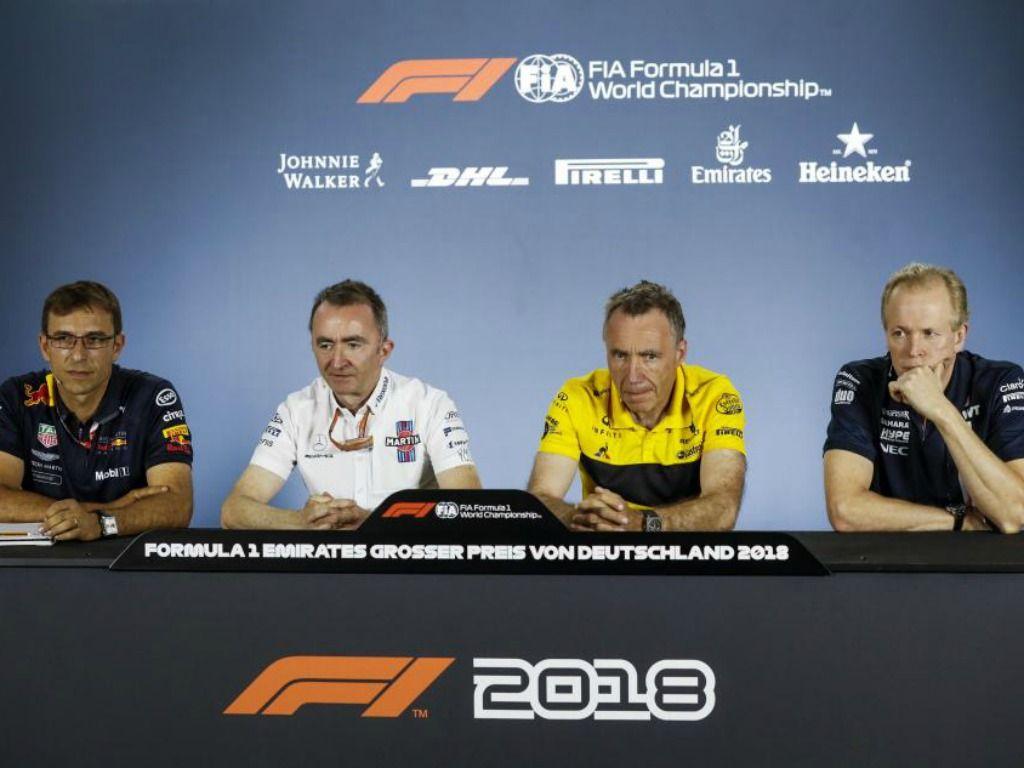 FIA press conference