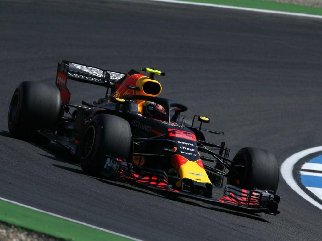 Max Verstappen: Quickest in FP2 in Germany