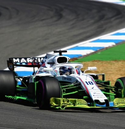 Williams: Used new front wing in Germany