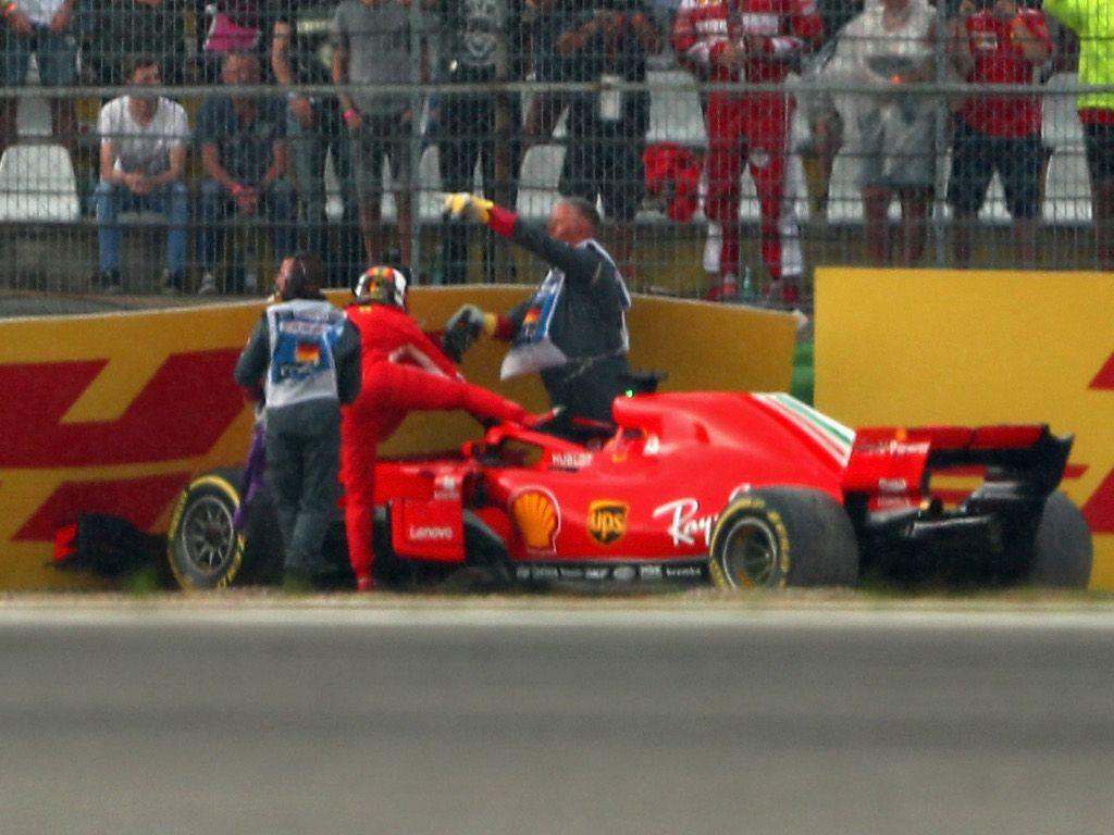Sebastian Vettel: Small mistake, big disappointment