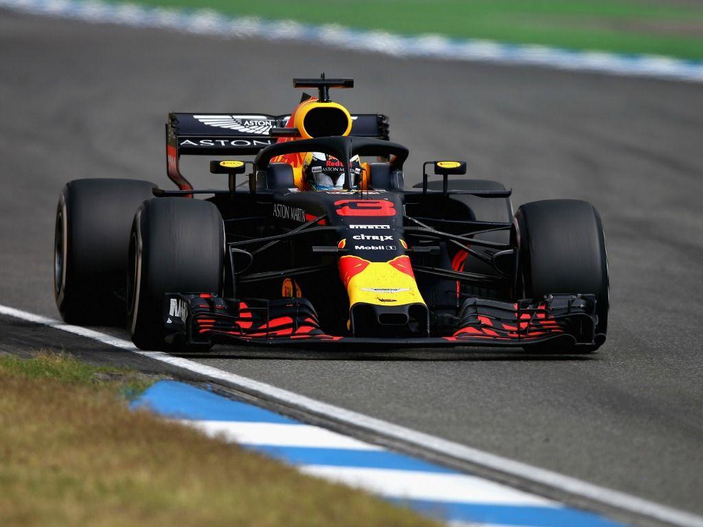 Daniel Ricciardo retired from the German Grand Prix