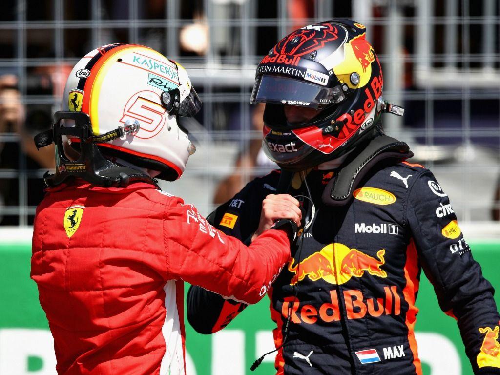 Max Verstappen defended Sebastian Vettel after his German GP crash
