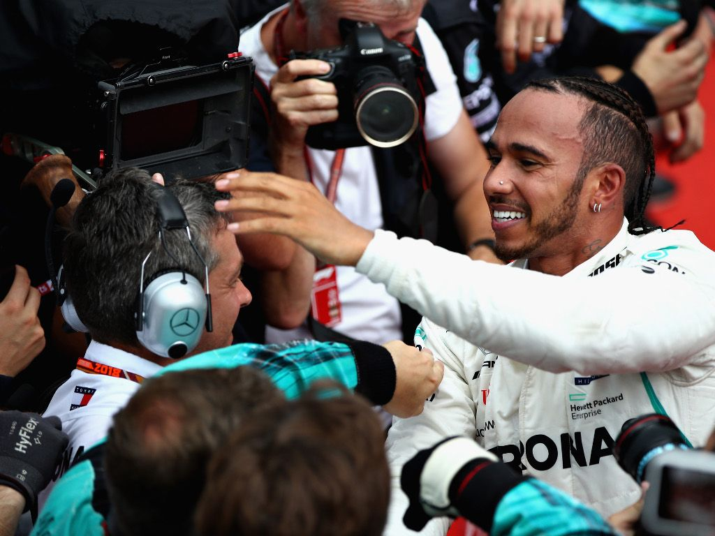 Lewis Hamilton had no need to respond to Vettel's dig