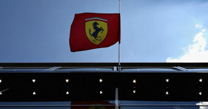 Ferrari: Flag at half-mast