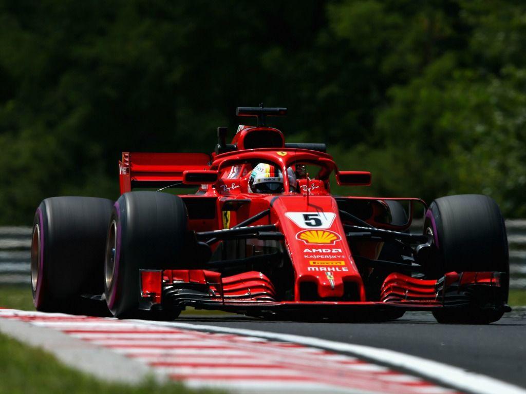 Sebastian Vettel: Tops timesheet in FP2