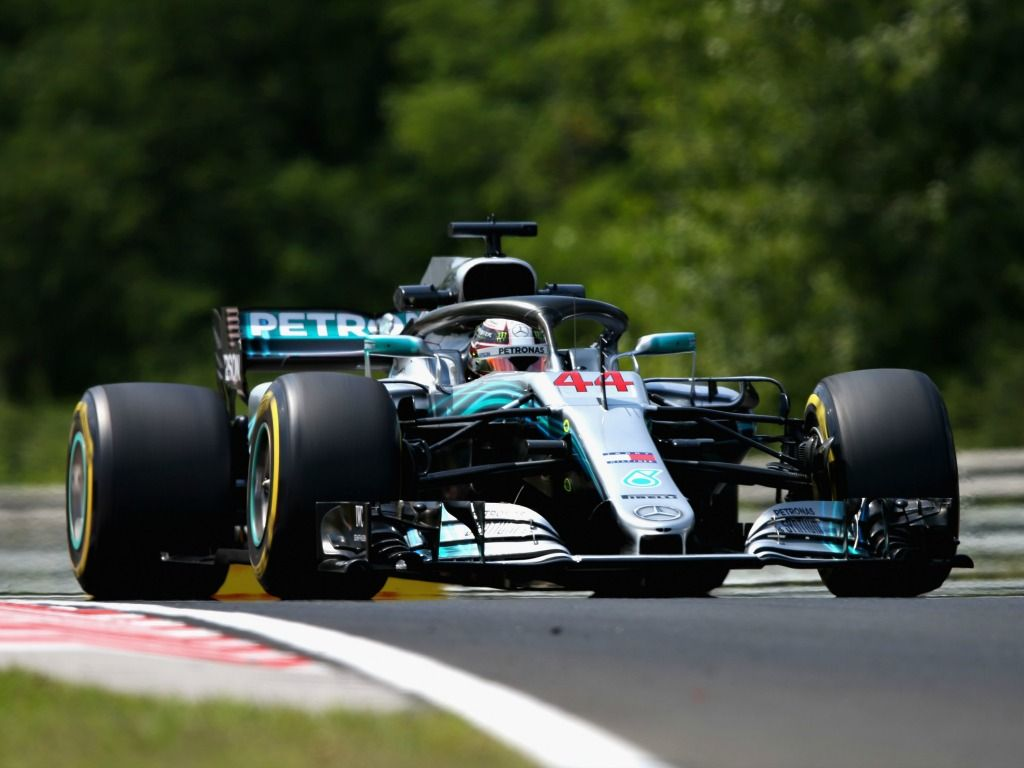 Mercedes struggled on Friday at the Hungaroring