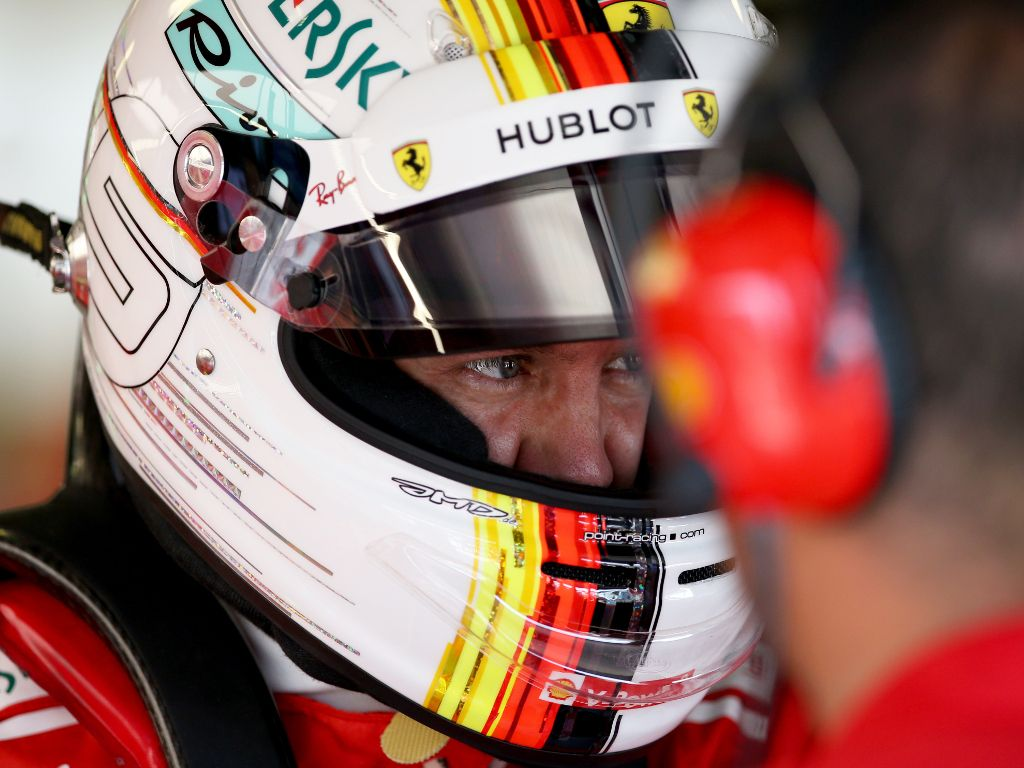 Sebastian Vettel: claims P1 in FP3 with new lap record