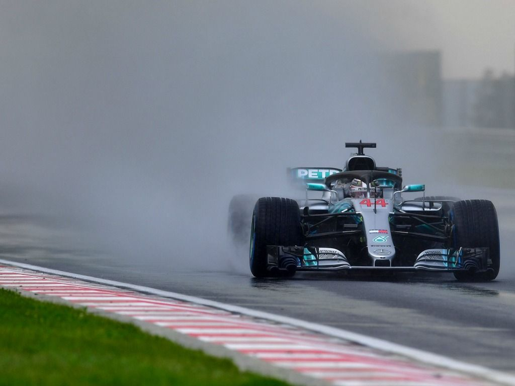 Lewis Hamilton qualified on pole for the Hungarian Grand Prix