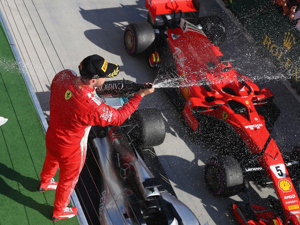 Sebastian Vettel: I thought we could go with Hamilton
