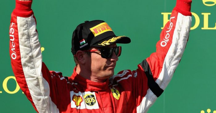 Kimi Raikkonen admits P3 was 'far from ideal'