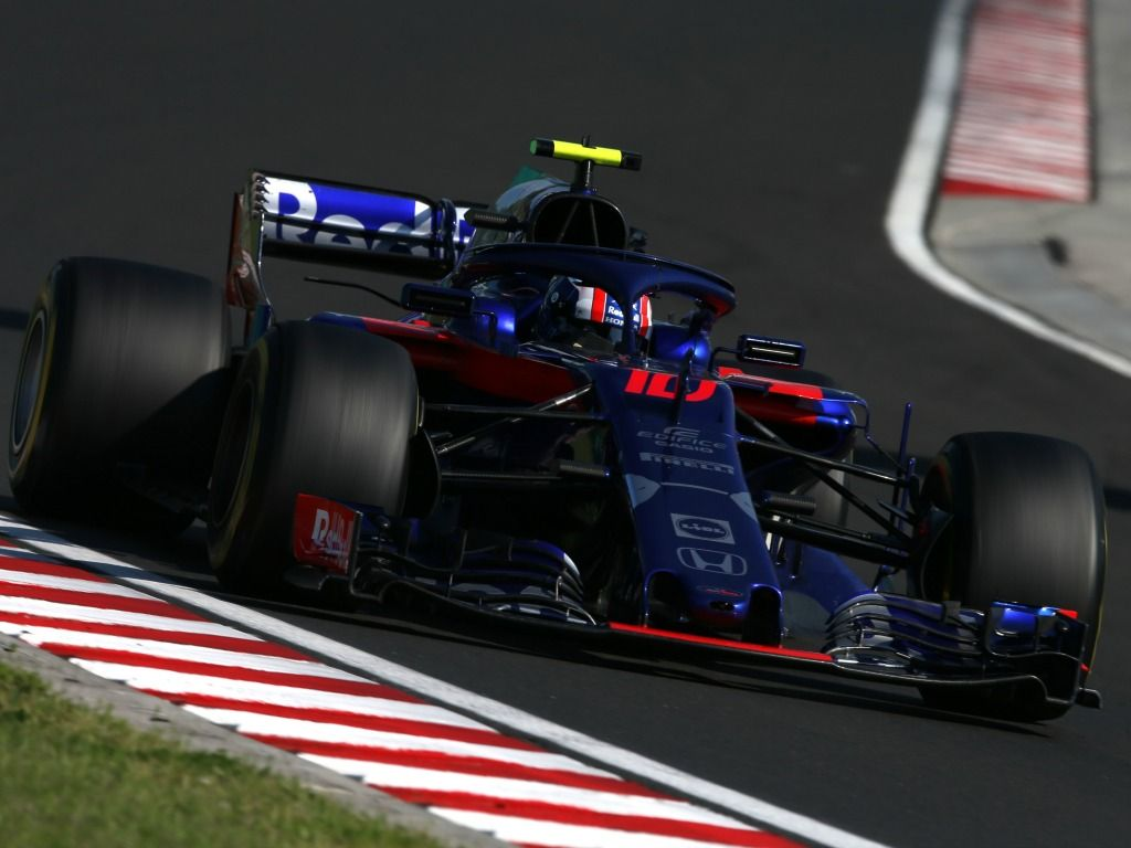 Pierre Gasly: P6 in Hungary