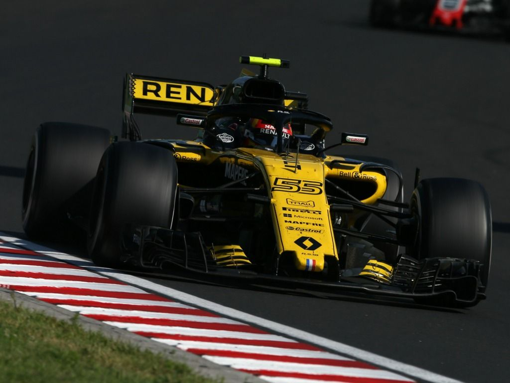 Carlos Sainz finished P9 in Hungary