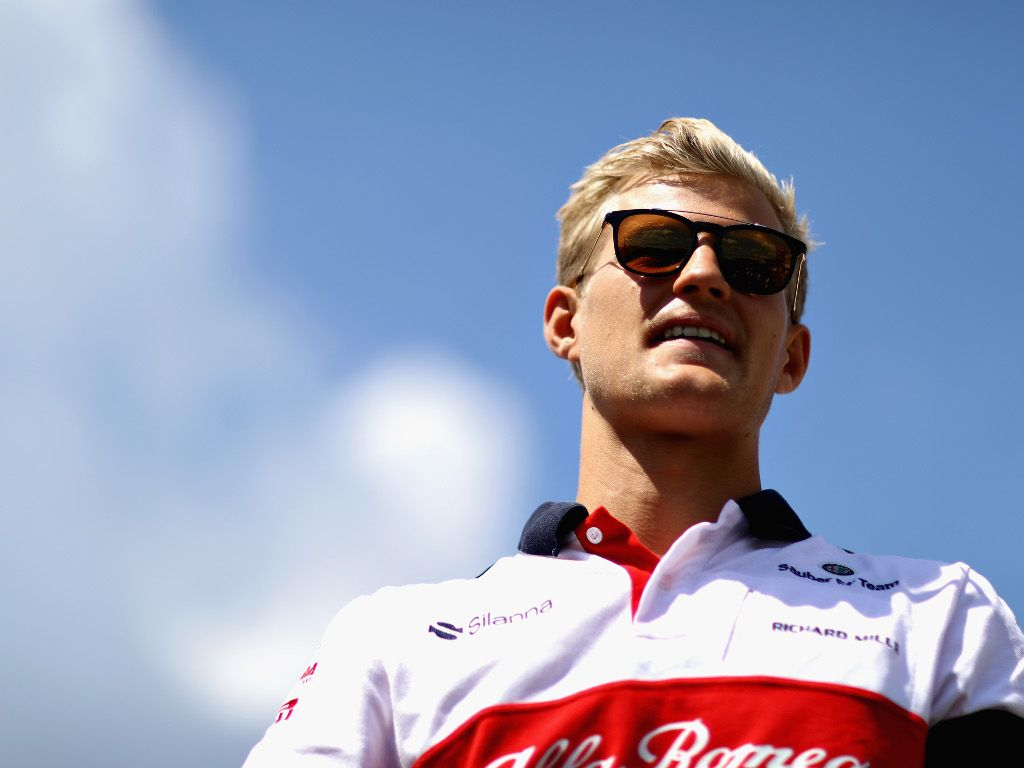 Marcus Ericsson hasn't had a drink system for '2 years'
