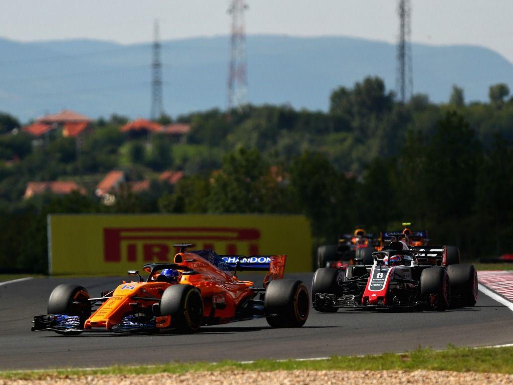 Fernando Alonso admits Romain Grosjean did better job on VSC restart