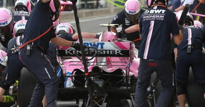 Force India: Row over prize money