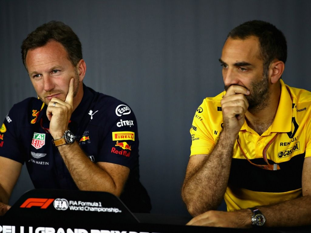 Red Bull and Renault are in a war of words