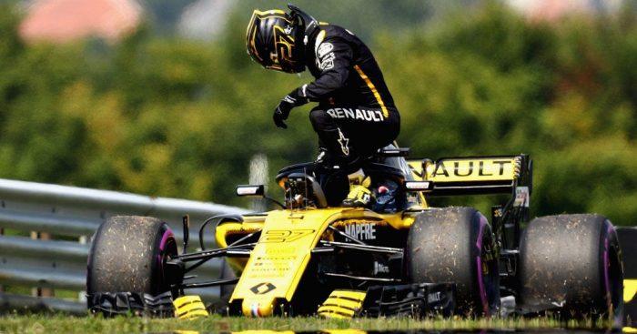 Renault were concerned Nico Hulkenberg's RS18 was 'live'