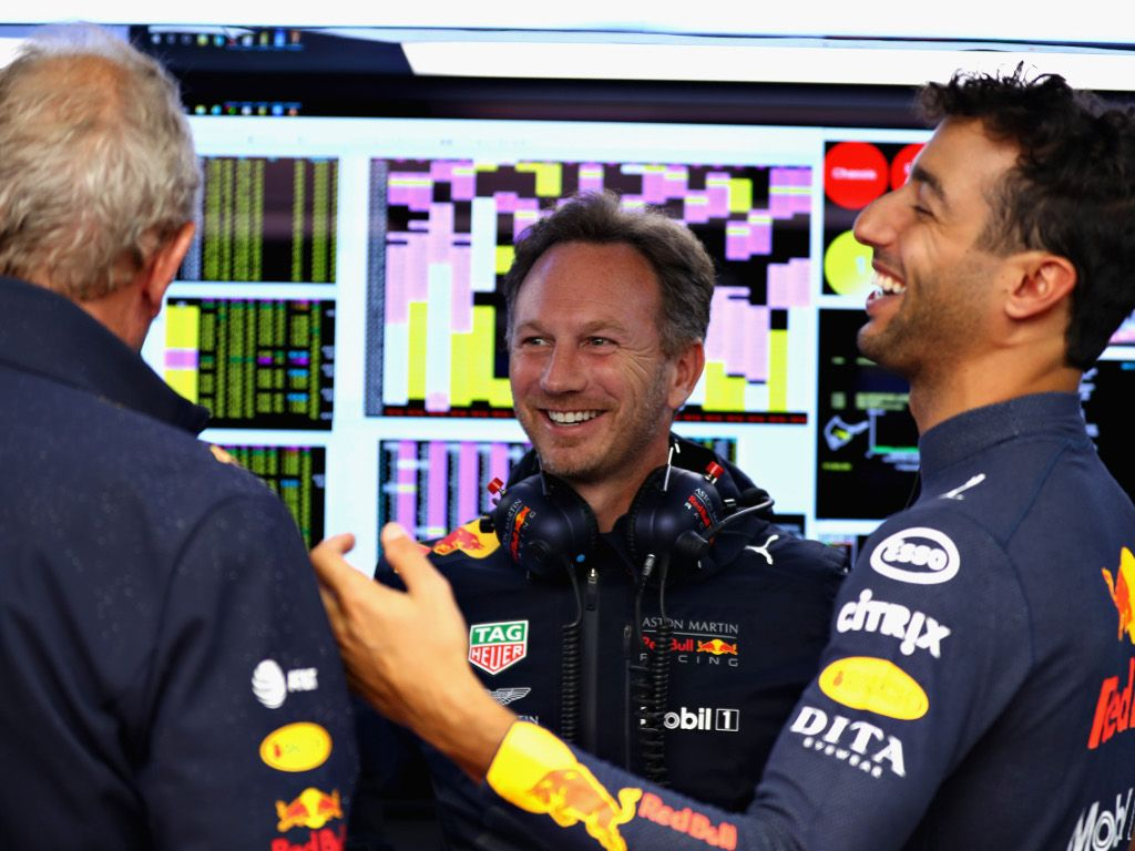 Horner thought Daniel Ricciardo 'was joking' - report