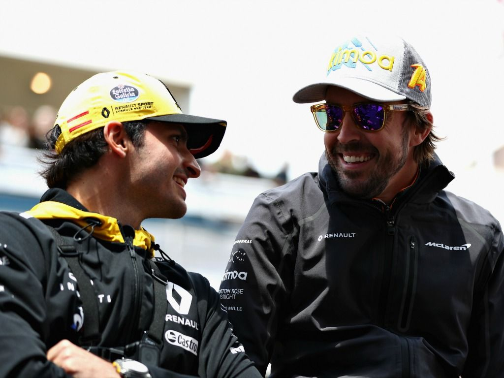 Carlos Sainz and Fernando Alonso as partners next year?