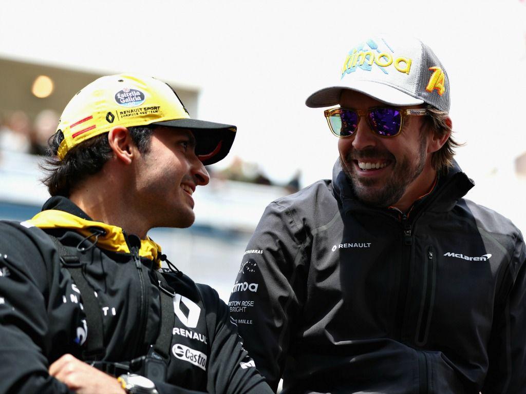 Carlos Sainz and Fernando Alonso as partners next year?